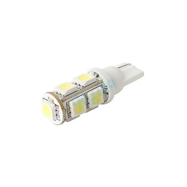 LED žárovka 12V 9SMD 5050 patice T10