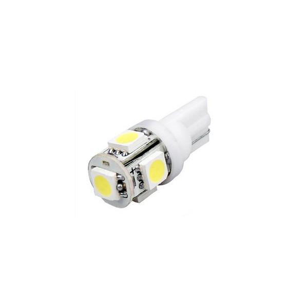 LED žárovka 12V 5SMD 5050 patice T10